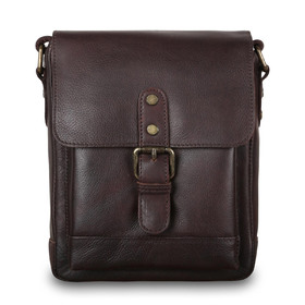 Сумка Ashwood Leather 1335 Brown. Вид спереди