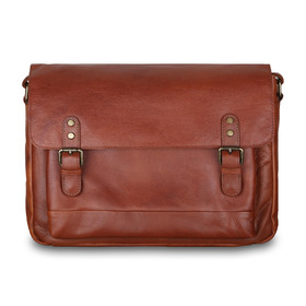 Сумка Ashwood Leather 1336 Tan. Вид спереди