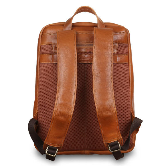 Рюкзак Ashwood Leather 8144 Tan. Вид сзади