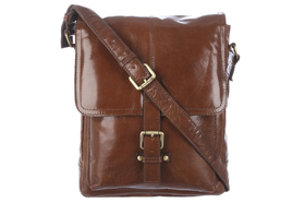 Сумка Ashwood Leather Benjamin Chestnut Brown