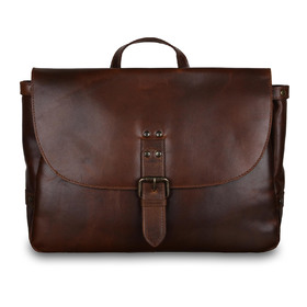 Cумка Ashwood Leather Callum Copper Brown
