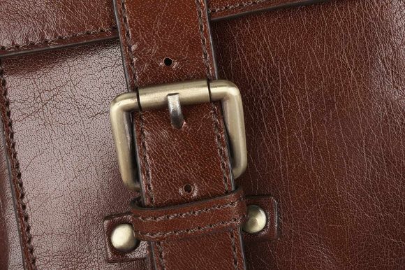 Сумка Ashwood Leather Josh Chestnut Brown