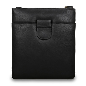 Сумка Ashwood Leather M-67 Black. Вид спереди