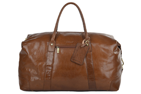 Дорожная сумка Ashwood Leather Harold Chestnut Brown