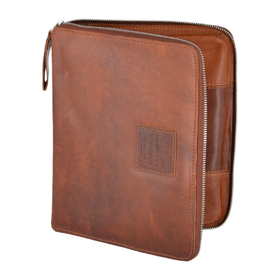 Папка Ashwood Leather 1660 Chestnut. Вид спереди