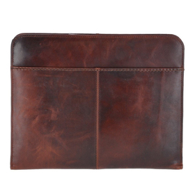 Папка Ashwood Leather Noah Vintage Tan. Вид спереди