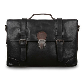 Сумка Ashwood Leather 4553 Black. Вид спереди