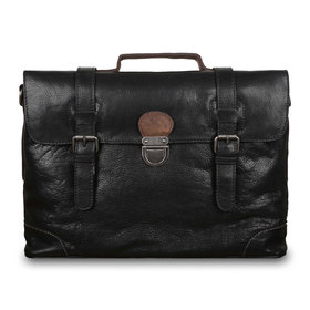 Сумка Ashwood Leather 4554 Black. Вид спереди