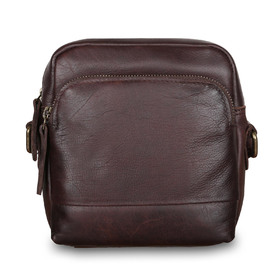 Сумка Ashwood Leather 1332 Brown. Вид спереди