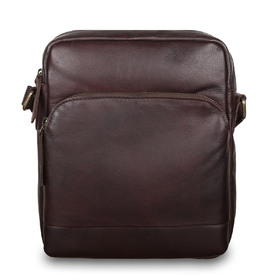 Сумка Ashwood Leather 1333 Brown. Вид спереди