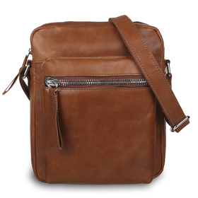 Cумка-планшет Ashwood Leather 1661 Chestnut из натуральной кожи