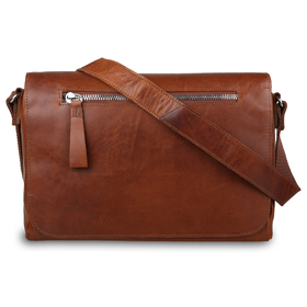 Сумка Ashwood Leather 1664 Chestnut. Вид спереди