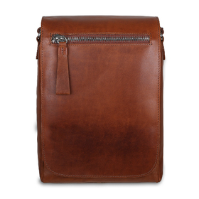 Сумка Ashwood Leather 1665 Chestnut. Вид спереди