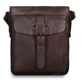 Сумка Ashwood Leather 7993 Brown. Вид спереди
