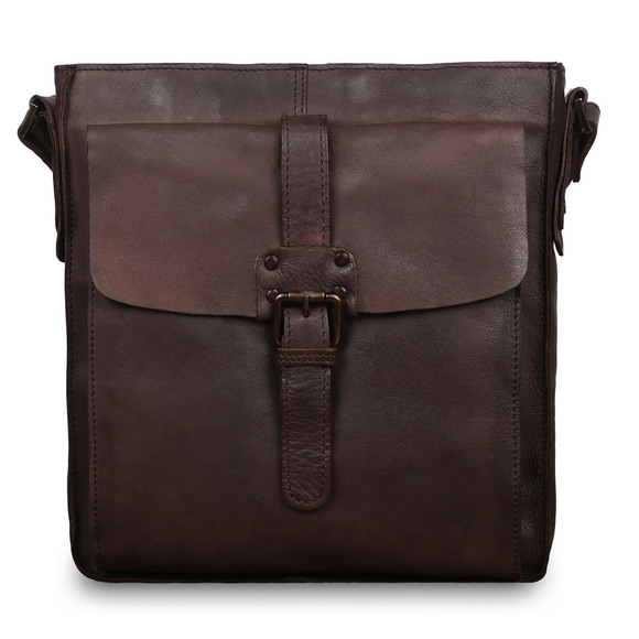 Сумка Ashwood Leather 7994 Brown. Вид спереди