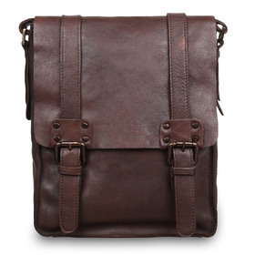 Сумка Ashwood Leather 7995 Brown. Вид спереди