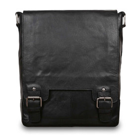 Сумка Ashwood Leather 8342 Black. Вид спереди