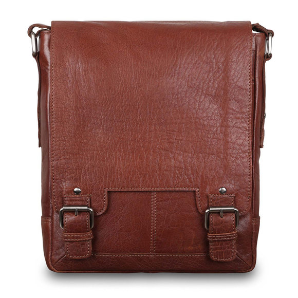Сумка Ashwood Leather 8342 Tan. Вид спереди