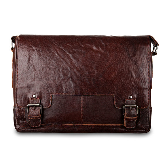 Сумка Ashwood Leather 8343 Tan. Вид спереди