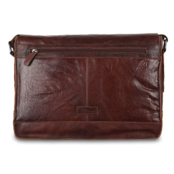 Сумка Ashwood Leather 8343 Tan. Вид сзади