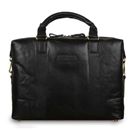 Сумка Ashwood Leather G-34 Black. Вид спереди