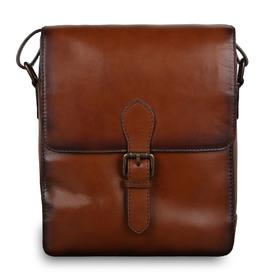 Сумка Ashwood Leather Jones Tan. Вид спереди