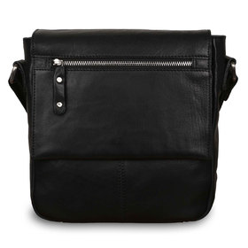 Сумка Ashwood Leather Ted Black. Вид спереди
