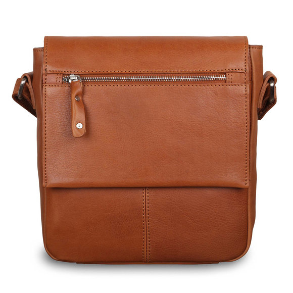 Сумка Ashwood Leather Ted Tan. Вид спереди