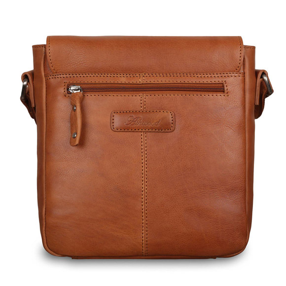 Сумка Ashwood Leather Ted Tan. Вид сзади